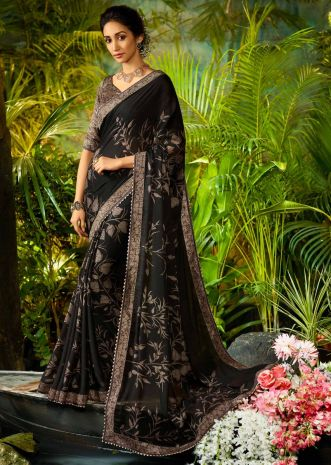 851229e964571b Georgette Sarees | Buy Pure Georgette Sarees Online