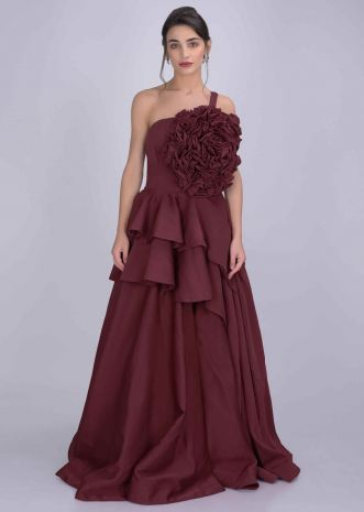 ba3613c658 Gowns: Buy Latest Party Wear & Designer Gowns for Women Online ...