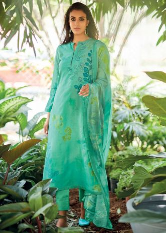 90574055fb Buy Unstitched Salwar Suits, Dress Materials for Women Online ...
