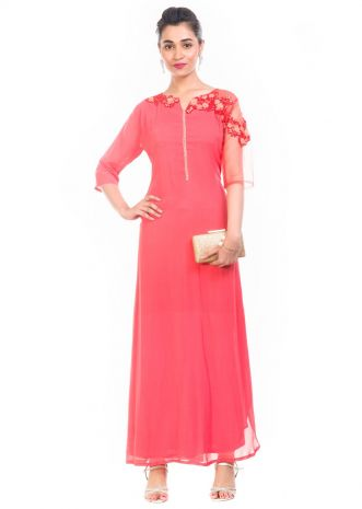 Strawberry Ice Long Length Tunic