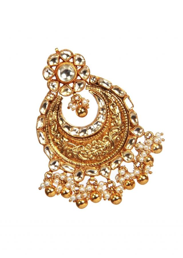 Classic kundan earring by Ra Abta for Kalki