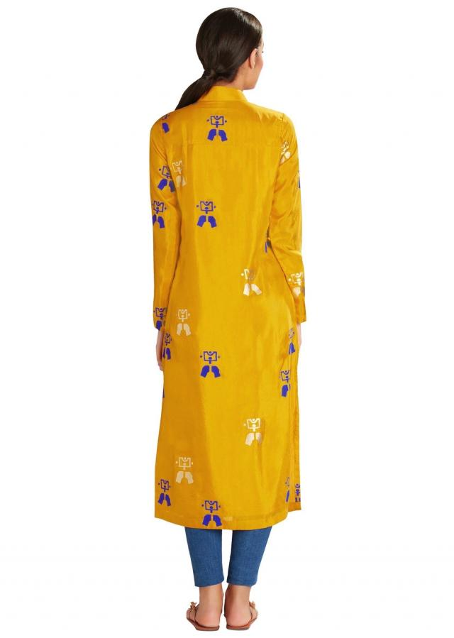 Ochre beach bed long kurta by Masaba