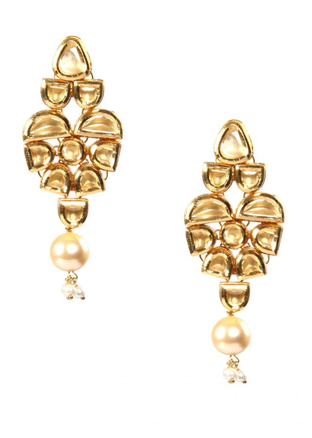 Earrings Studded With Premium Zircons