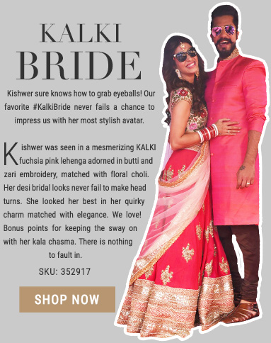 Kishwar Merchant Lehengas by Kalki fashion